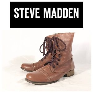 Steve Madden EUC Ankle Boots Brown Size 8.5